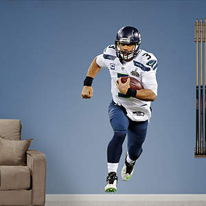 Russell Wilson - Super Bowl XLVIII Fathead Wall Decal